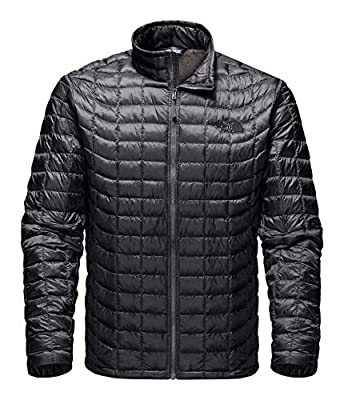 The North Face Thermoball Full Zip Jacket - Men's (Large, Asphalt Grey/Fusebox Grey Process Print)