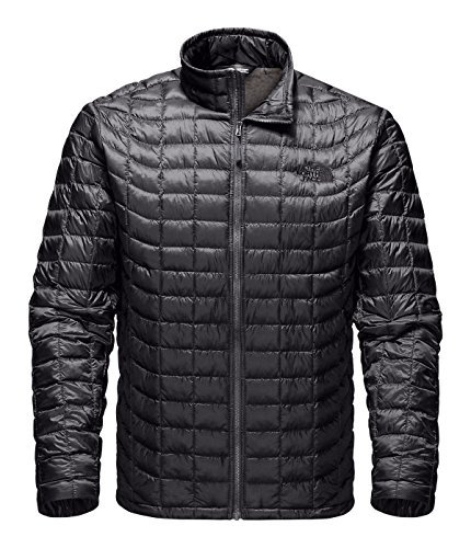 The North Face Thermoball Full Zip Jacket - Men's (Large, Asphalt Grey/Fusebox Grey Process Print)