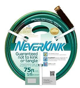 Apex 8605-75 NeverKink 2000 5/8-Inch by 75-Feet Heavy Duty Ultra Flexible Hose  (Older Model)