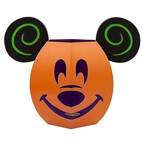 Disney Mickey Mouse Jack O'Lantern Luminary Tin