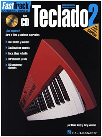 Fast Track Teclado 2 Keyboard (Book/Cd Spanish Edition ...