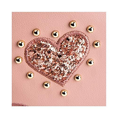 jc4055pp17lf0 Spalla Moschino Borse Donna Love Rosa A Poliuretano R8xAqY