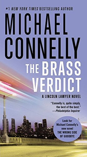 book cover of The Brass Verdict