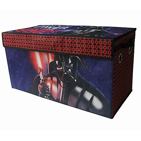 Disney Star Wars Dark Side Storage Trunk Ideal For Storing Toys, Books, Games, Clothes and More!