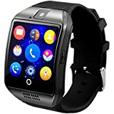 Spice Smart Flo Pace 3 ( ( ( Compatible ) High quality smart calling watch with all functions of smartphones 2017 Newest Q18 Smart Watch Bluetooth Smartwatch Phone with Camera TF SIM Card Slot by vell-tech ) High quality smart calling watch with all functions of smartphones )