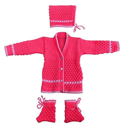 1967fd3a12d4 Apna Showroom Woolen Newborn Baby Sweaters