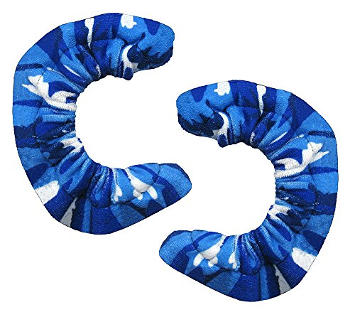 A&R Sports Blade Covers, Camo Blue, Medium (Blue Figure Toy)