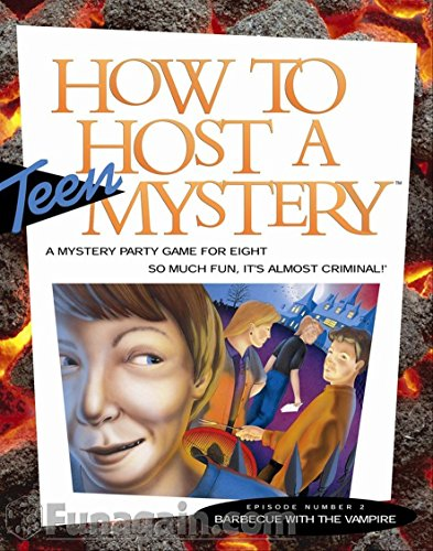 Clue Board Game Costumes (How to Host a Teen Mystery: Barbecue with the Vampire)