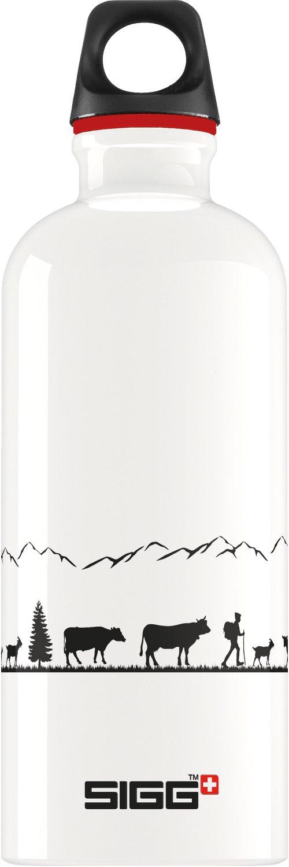 Sigg Unisex Swiss Craft Botella de Aluminio, Color Blanco, 0.6L 0.6L 8622.60