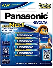 Panasonic Evolta Alkaline Battery, AAA, 4ct