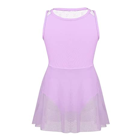 ef8170b0d iiniim Girls Kids Lyrical Latin Ballet Dance Tutu Dress Glitter ...