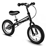 BIKFUN Balance Bike for Kids, No Pedal Traning Children Cycles with Adjustable Handlebar and Seat, Toddler Walking Bicycle