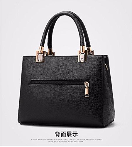 del Bolso Mujeres la Bag del negro Bolso de Claro de Crossbody Hombro Crossbody Las de Moda Gris Bordado de CCZUIML qYB5a8wa