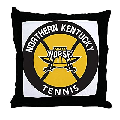 FiuFgyt Northern Kentucky NKU Tennis Throw Pillows Couch Cushion Covers Canvas Sofa Pillow Case 18 x 18