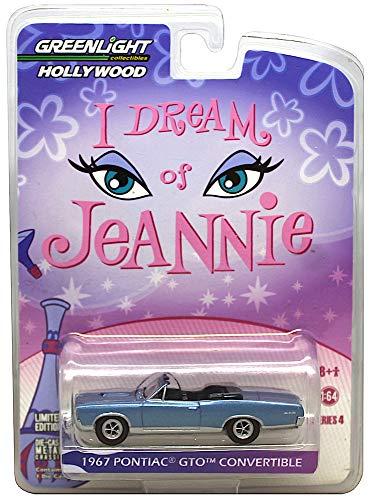 I Dream of Jeannie Greenlight Hollywood 1967 Pontiac GTO Convertible 1:64 ()
