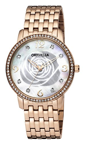 ORPHELIA La Rose Women's Rose Gold Stainless steel watch-OR12705