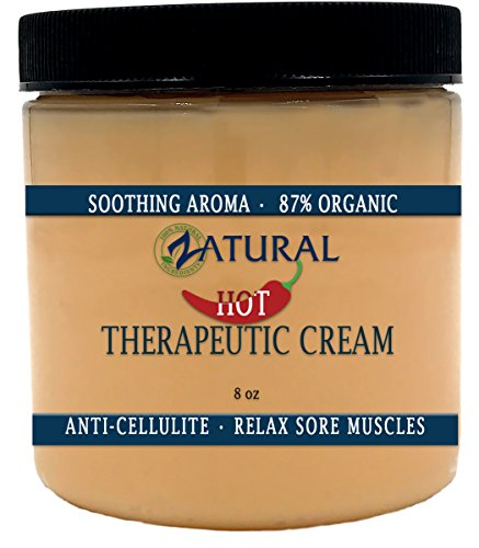 Organic Hot Cream-Cellulite Cream-Muscle Rub-Slimming Cream-