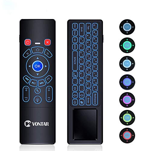 VONTAR Mini Wireless Keyboard / 2.4G Air Remote Control/Mouse / Touchpad...