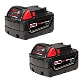 Milwaukee M18 XC RED LITHIUM 18-Volt Lithium-ion Cordless Tool Battery (2 Pack)