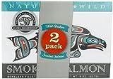 Alaska Smokehouse Smoked Salmon Duo Original, Sockeye, 16 Ounce by Alaska Smokehouse