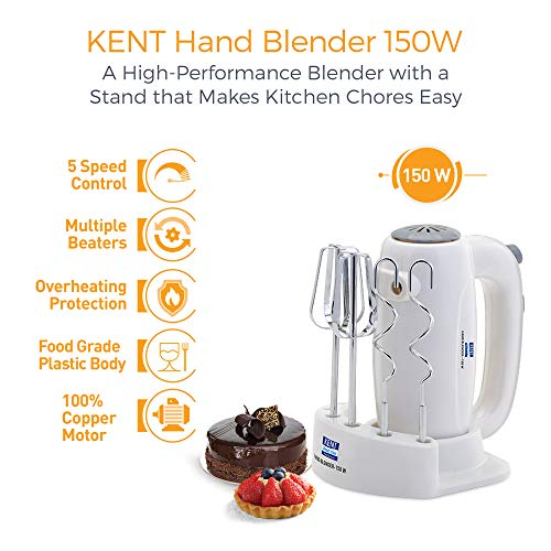KENT Hand Blender 150W White best price deals and discounts