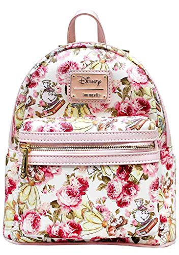 (Loungefly Beauty and the Beast All Over Belle Print Standard)