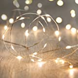 Magicnight Battery Operated Powered Led String Starry Light Copper Wire Decorative Lights 30 Leds Warm White 10ft