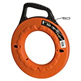 Klein Tools 56004 Depth Finder with High Strength 1/8-Inch Wide Steel Fish Tape, 240-Foot Length by Klein Tools