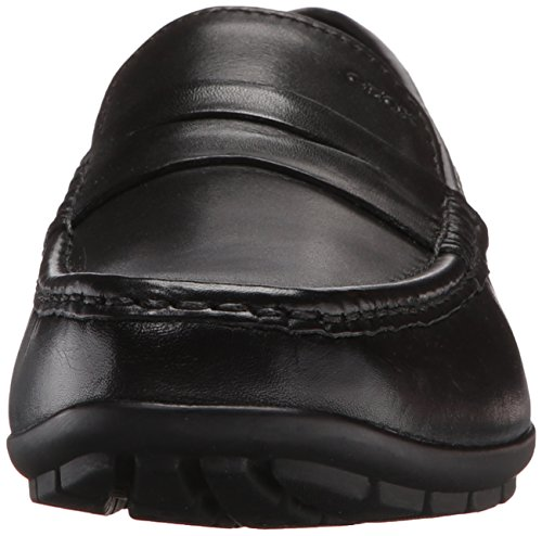Geox Mens Mmonetw2fit2 Mocassino Slip-on Nero