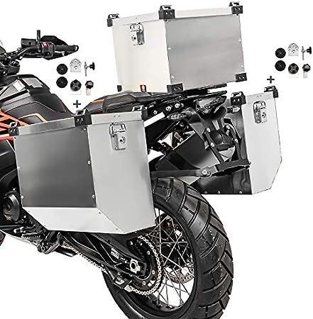 Maletas Laterales 41-41L Baul 38L para Yamaha MT-07 / Tracer 700