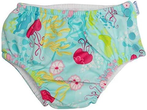 [ アイプレイ ] 水着 スイムウェア 女の子 オムツ機能付 パンツ Mサイズ アクアコーラルリーフ 711150 Iplay [並行輸入品]