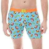 Nickelodeon Rugrats Chuckie Toss Blue Outer Space Boxer Brief (X-Large)
