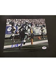 Darrell Revis Signed New York Jets Autographed 8x10 Photograph