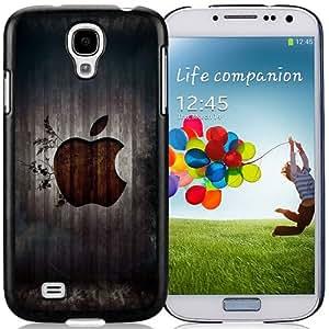 Hot Sale Samsung Galaxy S4 i9500 Cover Case ,Apple Logo 1 Black Samsung Galaxy S4 i9500 Phone Case Unique And Fashion Design