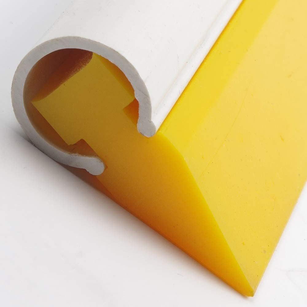 Yellow YUNPENG Vehicle Rubber Vinyl Squeegee with Handle Soft Tube for Car Vinyl Scraper//Window Tint Film//Home Water Blade//Decal Wrap Tool9