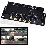 Auto Wayfeng WF マルチカメラスプリッタ 赤外線コントロール4カメラビデオコントロール車のカメラ画像スイッチコンバイナボックス左の表示のために右の表示フロントリアの駐車のカメラボックス