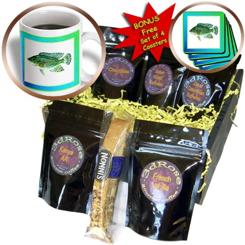 Susan Brown Designs Animal Themes - Haitian Tilapia - Coffee Gift Baskets - Coffee Gift Basket (cgb_14879_1)