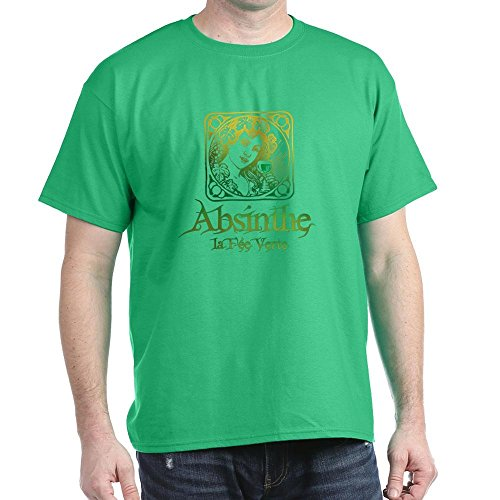 airy Vintage - 100% Cotton T-Shirt (Absinthe Green Fairy Shirt)
