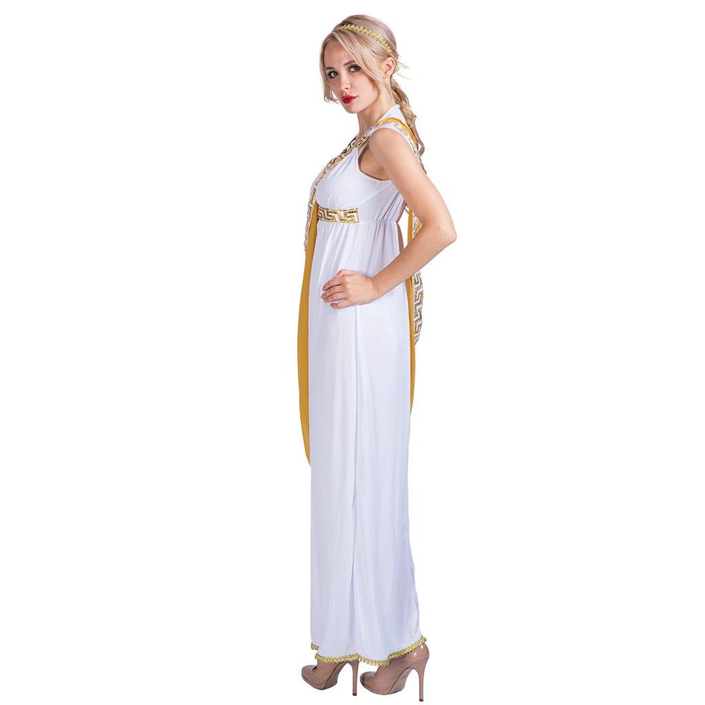EraSpooky Diosa Griega Romana Toga Troy Histórico Disfraz: Amazon.es: Ropa y accesorios