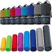Fit-Flip Mikrofaser Handtuch – in Allen Farben, 8 Größen – kompakt, Ultra leicht & schnelltrocknend – Microfaser…