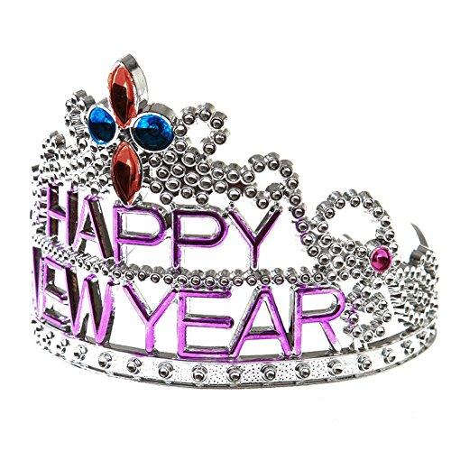 HAPPY NEW YEAR TIARA, COLORS MAY VARY