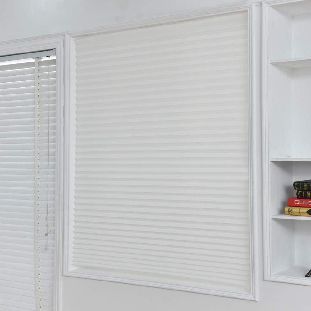 Wingbind Stores temporaires, instantanés, faciles à Installer Aucun Outil nécessaire Convient aux Stores sans Fil de Toutes Tailles, Blanc 23,6 x59 6 x59