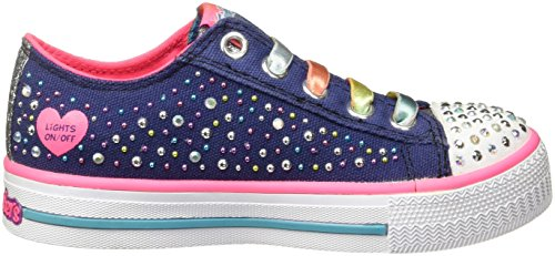Skechers Twinkle Toes Light Up 10627LNVMT, Turnschuhe
