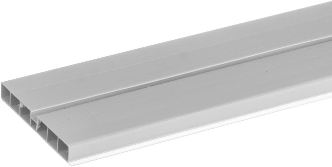 HOLZBRINK Eckverbindung Sockelblende Sockelleiste f/ür Einbauk/üche 150mm H/öhe WEISS Hochglanz HBK15