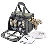 Scuddles Picnic Basket with Utensils - Extra Large