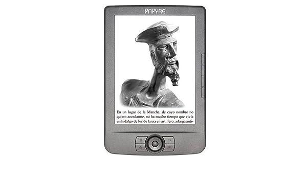 Papyre P602G Grafito - Lector de eBooks (4 GB), gris: Amazon.es ...