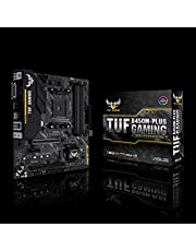 لوحة الأم Asus TUF B450M-Plus Gaming AMD Ryzen 2 AM4 DDR4 HDMI DVI-D M.2 mATX