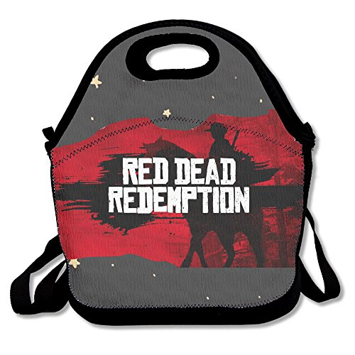CMCM Red Dead Redemption Lunch Bag/Lunch Box/Bento Bag