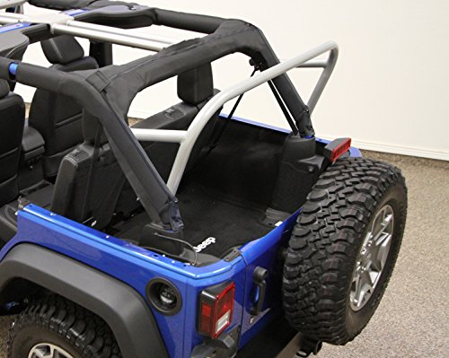(Rock Hard 4x4 3RD Row / Accessory Mount Sport Cage for Jeep Wrangler JK 4DR 2007 - 2017)