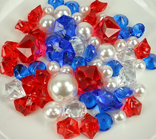 red white and blue gems - 2